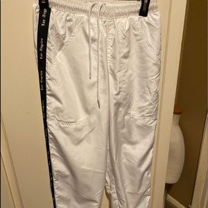 Cotton On Los Angeles White Sweatpants size Small